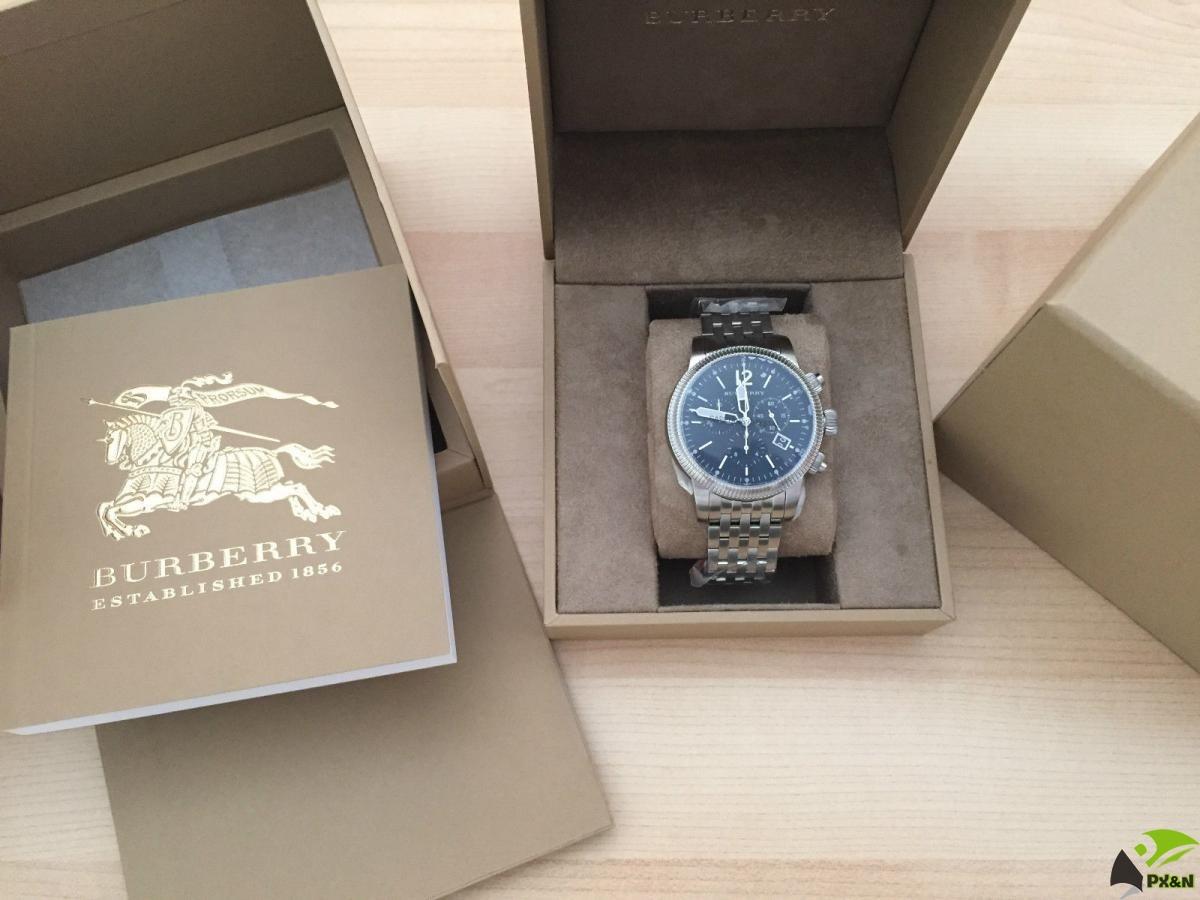 Đồng hồ nam Burberry Mới 100% đầy đủ hộp sách - Xách tay từ Mỹ ( Giá mềm )